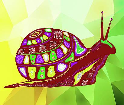 Snail by Elena Kosvincheva