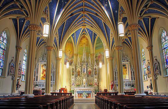 St. Marys Catholic Church by Dan Myers