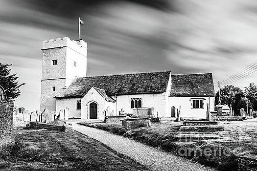 St Sannans Church Bedwellty Mono by Steve Purnell