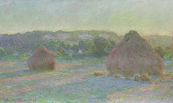 Claude Monet - Stacks of Wheat, End of Summer