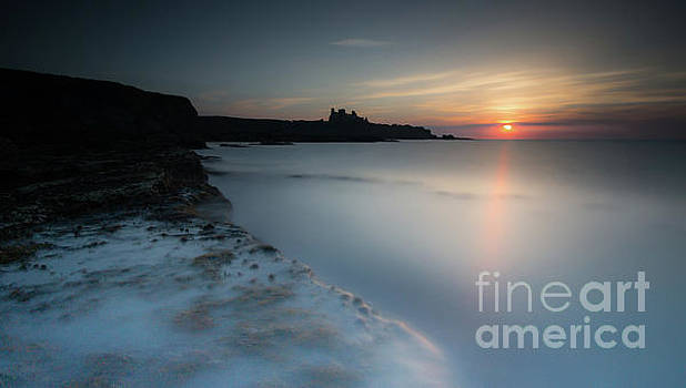 Tantallon Castle Sunset by Keith Thorburn LRPS