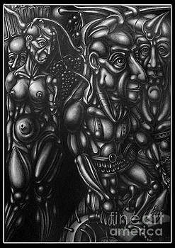 The prodigal son by Temo Dumbadze