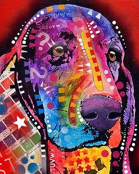 Thinking Basset by Dean Russo