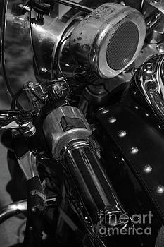 Vintage Motorbike by Dariusz Gudowicz