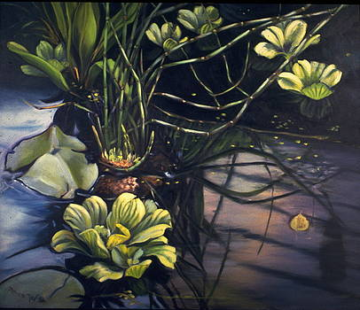 Water Garden Series-J by Patricia Reed