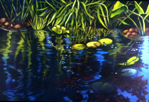 Water Garden Series  by Patricia Reed