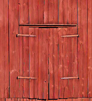 David Letts - Weathered Red Barn of New Jersey