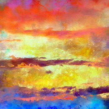 Ricki Mountain - What-a-Color Art Series -Seascape Art