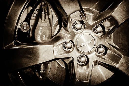 2011 Chevrolet Camaro Indianapolis 500 Pace Car Wheel -0317s by Jill Reger