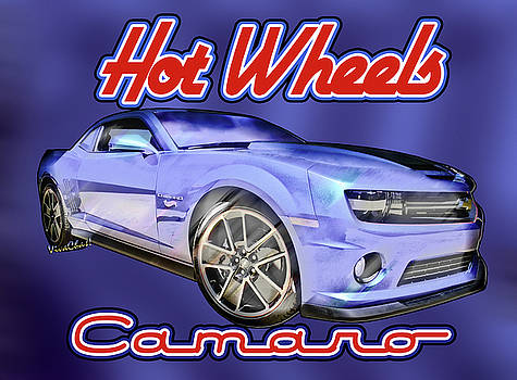 2013 Hot Wheels Camaro Redux by Chas Sinklier