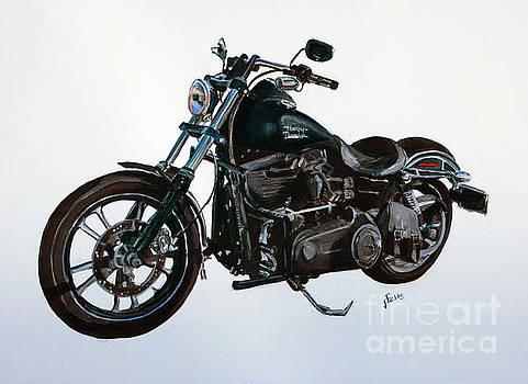 2015 Harley Davidson Dyna by Janet Felts