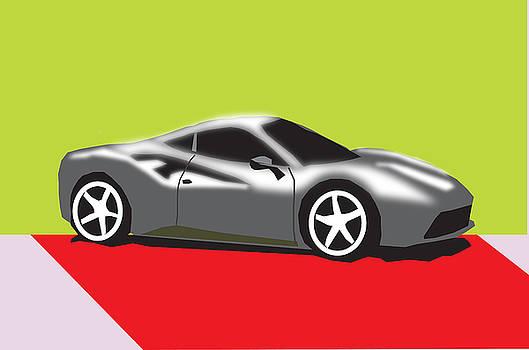 2016 Ferrari 488 GTB by Michael Chatman