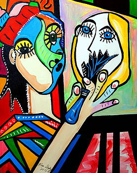 Picasso By Nora  The Artist by Nora Shepley