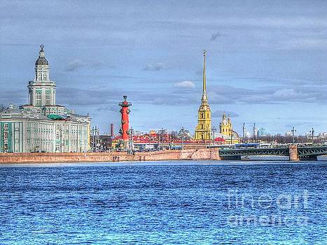 Peterburg Russia by Yury Bashkin