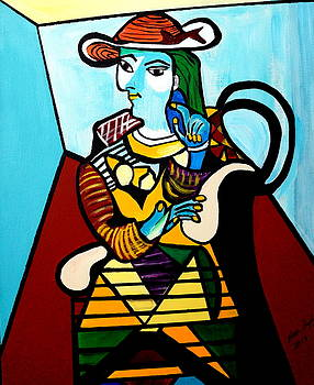 Picasso By Nora by Nora Shepley