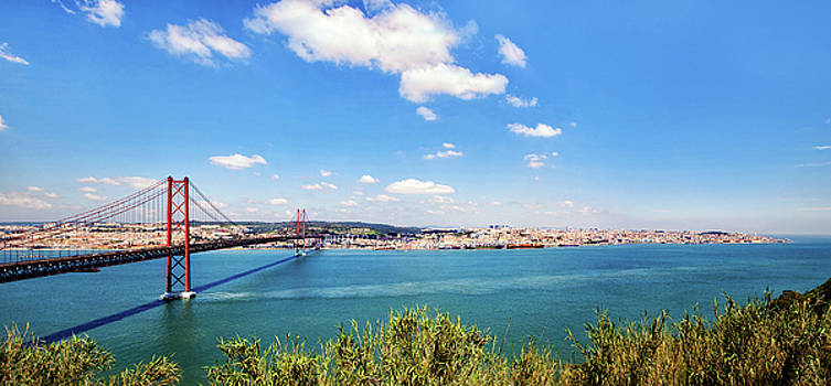 25th April Bridge Lisbon by Marion McCristall