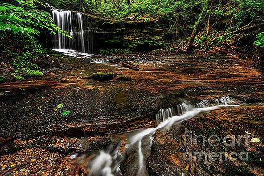 West Virginia Waterfall by Thomas R Fletcher