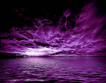 Heavens Waves - Sri Yantra by Sir Josef - Social Critic - ART