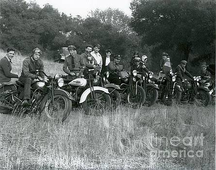 1941 Motorcycle Vintage Series by Sherry Harradence