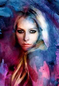 Avril Lavigne by Elena Kosvincheva