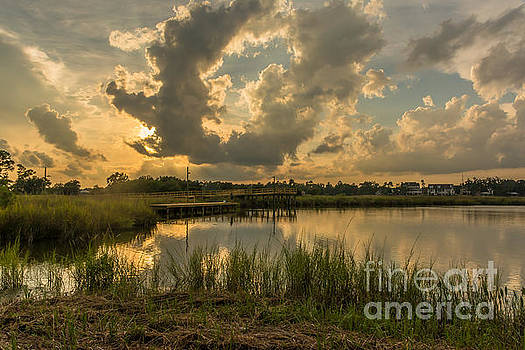 Bayou Sunset by Brian Wright