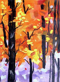 Beauty of Autumn Forest by Samiran Sarkar