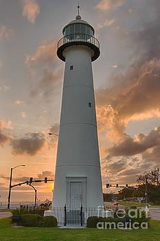 Biloxi Lighthouse by Brian Wright