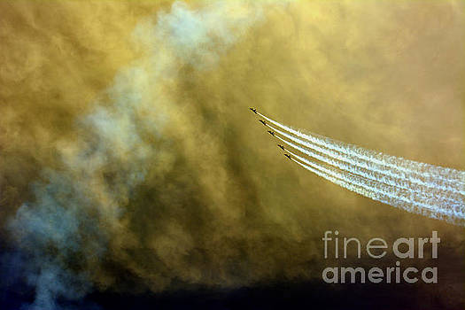 Blue Angels  by Janice Spivey