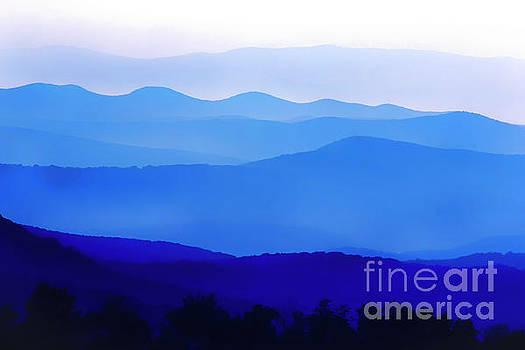 Blue Ridge Mountains by Thomas R Fletcher