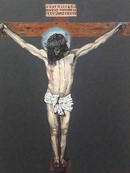 Christ on the Cross by Charles Vaughn