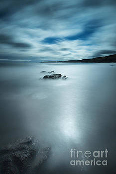 Coldingham Bay Beach by Keith Thorburn LRPS