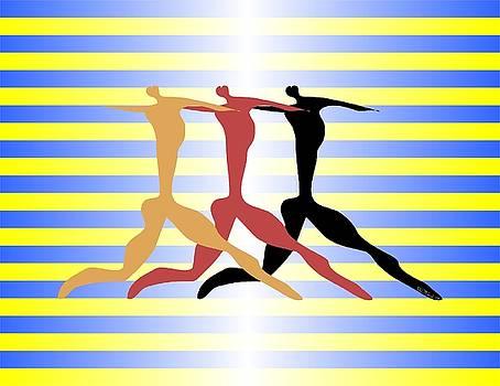Walter Oliver Neal - 3 Dancers
