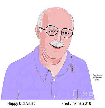 Happy Old Artist by Fred Jinkins