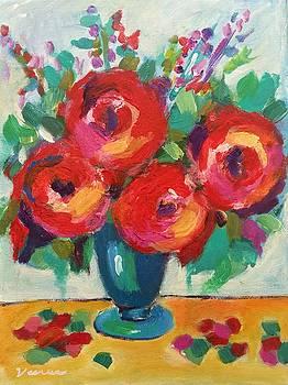 Impressionist Roses by Venus