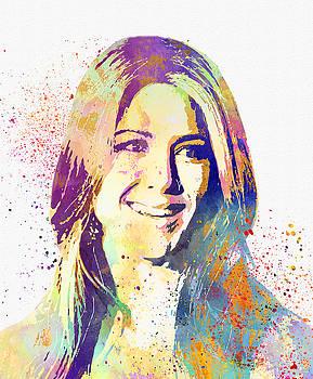 Jennifer Aniston by Elena Kosvincheva
