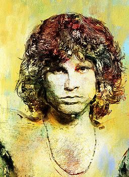 Jim Morrison by Elena Kosvincheva