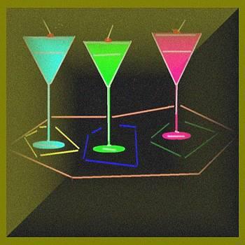 3 Martinis by Jacqueline Mason