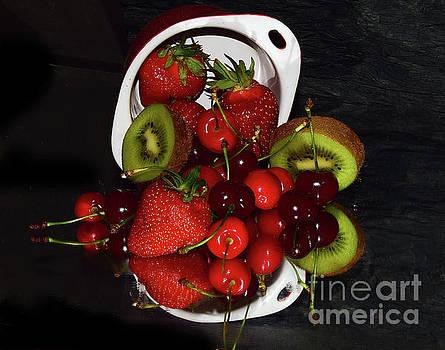 Multicolor Fruits by Elvira Ladocki