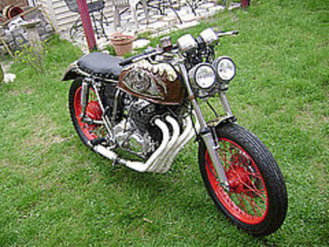 My Motorcycle by Don Thibodeaux