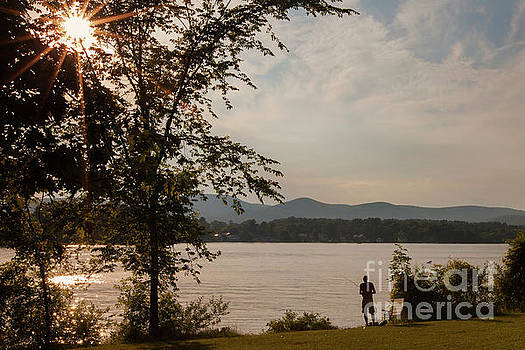 Pontoosuc Lake by Jonathan Welch