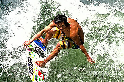 Surfer by Andrew Michael