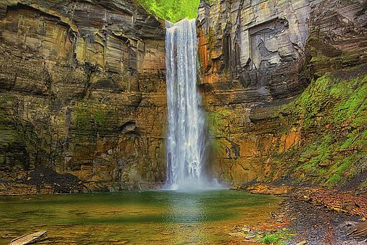 Taughannock Falls by Raymond Salani III