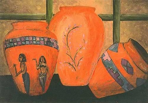 3 Vases by Aldonia Bailey