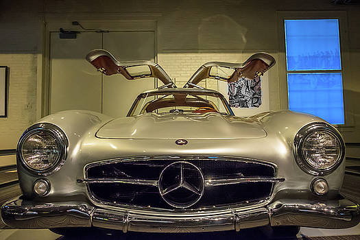 300SL Mercedes by Paul Barkevich