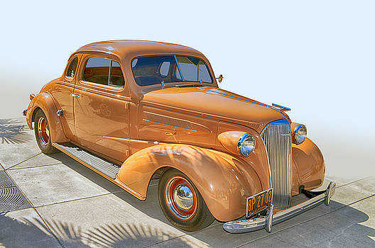 37 Chev Coupe by Bill Dutting