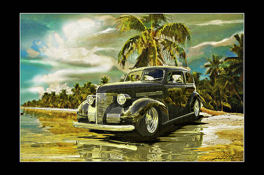 38Buick at beach2 by John Breen