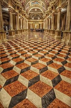 3D Floor Art by Nikki McInnes