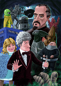 Martin Davey - 3rd Dr Who and Friends
