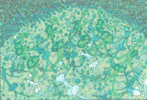 Artesion Walkabout Healing  Aqua Spirit  by Lyn Dufty