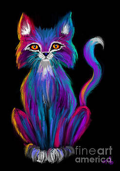 Nick Gustafson - Colorful Cat
